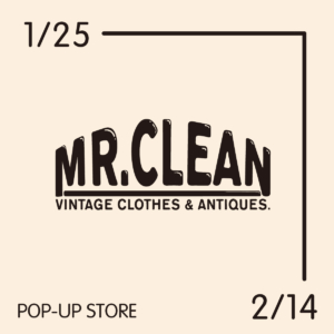 Mr.CLEAN POP UP STORE